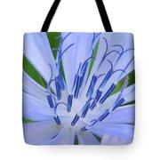 Blue Wildflower Tote Bag