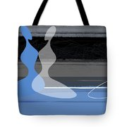 Blue Women Tote Bag