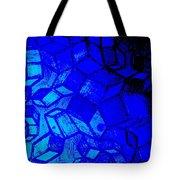 Blue Zinc Tote Bag