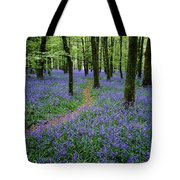 Bluebell Wood, Near Boyle, Co Tote Bag