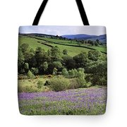Bluebells In A Field, Sally Gap, County Tote Bag