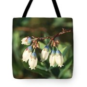 Blueberry Flowers Tote Bag