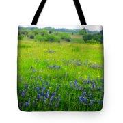 Bluebonnet Dreams Tote Bag