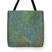 Bluegreen Stone Abstract Tote Bag