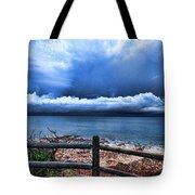 Bluer On The Other Side Tote Bag