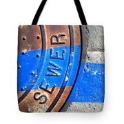 Bluer Sewer Three Tote Bag