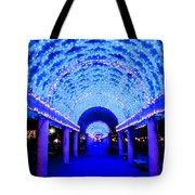 Blues Infinity Tote Bag