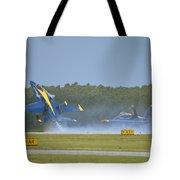 Blues Solo Takeoff Tote Bag