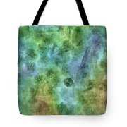 Bluetone Abstract Tote Bag