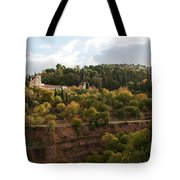 Bluffside Palace Tote Bag