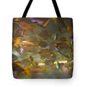 Blurred Image Of Fish Swimming In An Tote Bag