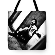 Blurred Time Tote Bag