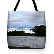 Blustery River  Tote Bag