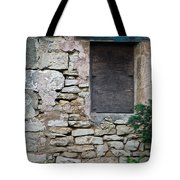 Boarded Window England Tote Bag