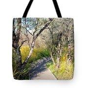 Boardwalk To The Birds Tote Bag