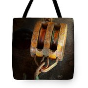 Boat - Block And Tackle II Tote Bag