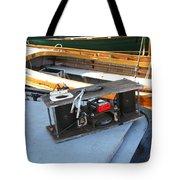 Boat Builders Music Box Tote Bag