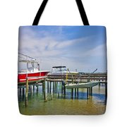 Boat Caddy Tote Bag