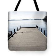 Boat Dock Tote Bag