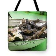 Boat Full Of Alligators  Tote Bag