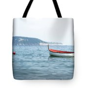 Boat In The Water Tote Bag