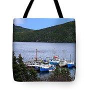Boat Lineup Tote Bag