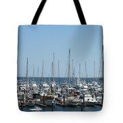 Boat Slips Tote Bag
