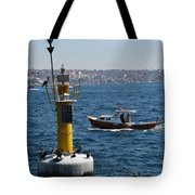Boat Watchers Tote Bag