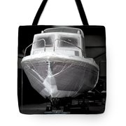 Boat With Protection Tote Bag