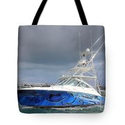 Boat Wrap On Cabo Tote Bag