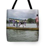 Boatman Taking A Couple Out On A Shikhara Tote Bag