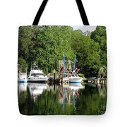 Boats Are In Tote Bag