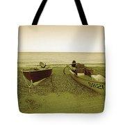 Boats At Beesands Tote Bag
