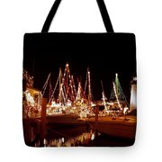 Boats Lighted Tote Bag