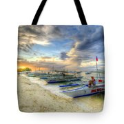 Boats Of Panglao Island Tote Bag