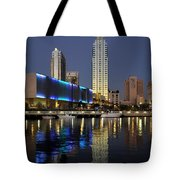 Boats On The Hillsborough Tote Bag