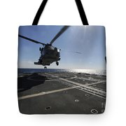 Boatswains Mate Signals The Pilots Tote Bag