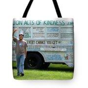 Bob And The Kindness Bus Tote Bag
