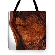 Bobcat Closeup Tote Bag