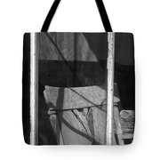 Bodi Ghost Town Window Tote Bag