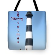 Bodie Lighthouse - Outer Banks - Christmas Card Tote Bag