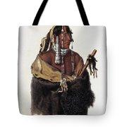 Bodmer: Young Mandan Tote Bag
