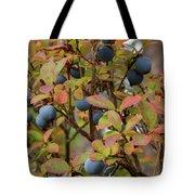 Bog Bilberry Tote Bag
