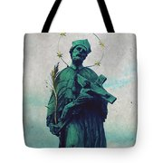 Bohemian Saint Tote Bag by Linda Woods
