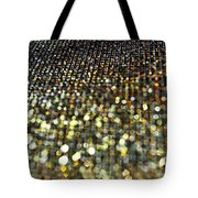 Bokeh Bling Watercolor Photoart Tote Bag