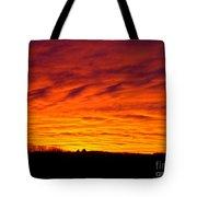 Bold Sunset Tote Bag