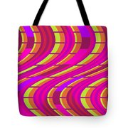 Bold Swirl  Tote Bag by Louisa Knight