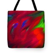 Boldly Into The Stream Tote Bag