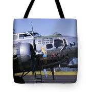 Bomber Sentimental Journey Tote Bag