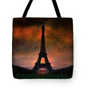 Bonsoir Paris Tote Bag